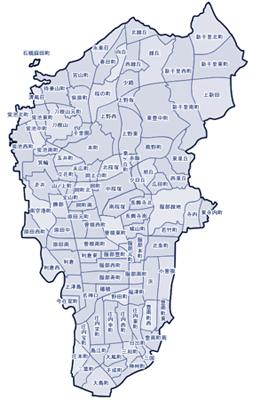 訪問診療エリアは、豊中市近郊とさせていただきます。