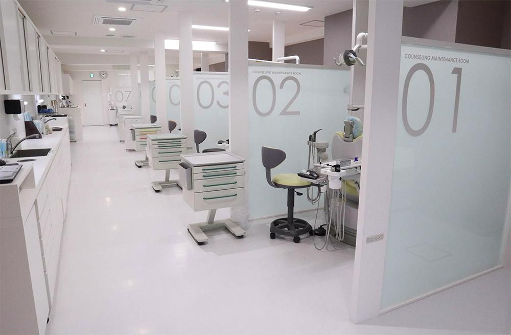 医療法人五條歯科医院 第二診療所の様子